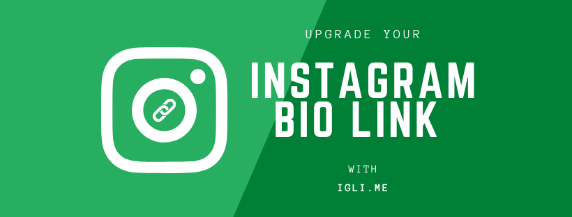 Instagram bio link - upgrade your Instagram